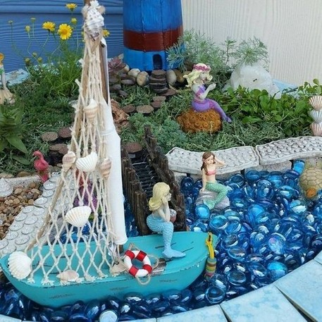 17 Easy DIY Magical Mermaid Garden Design Ideas 15