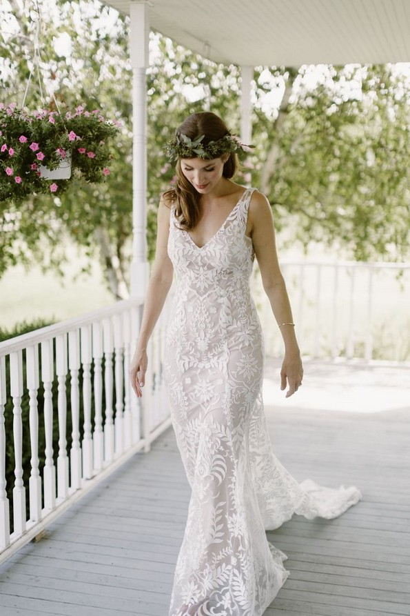 21 Charming Boho Chic Wedding Dresses Ideas 26