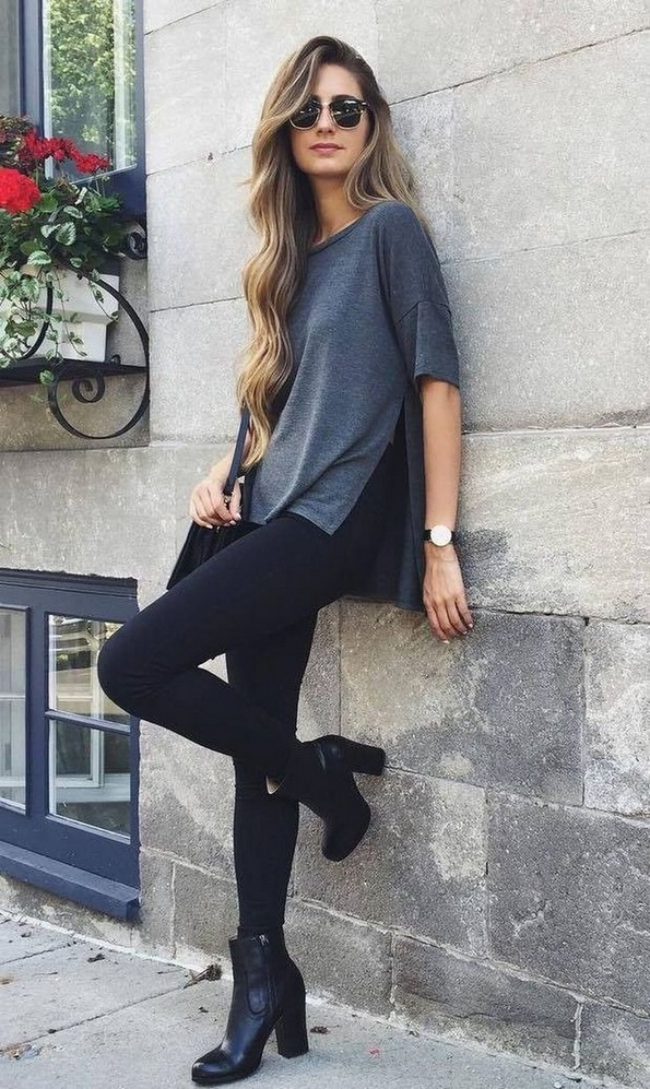 17 Modern Fall Womens Black Jeans Outfits Ideas 16