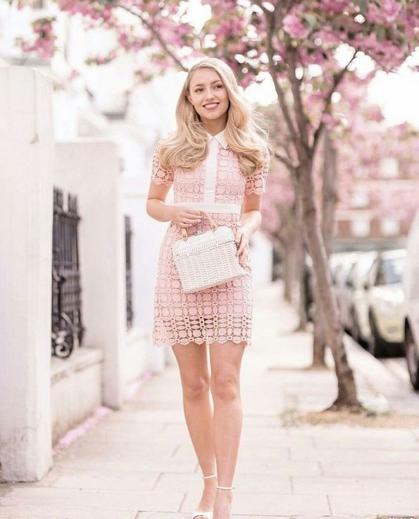 18 Charming Girly Outfit Ideas For Spring 05