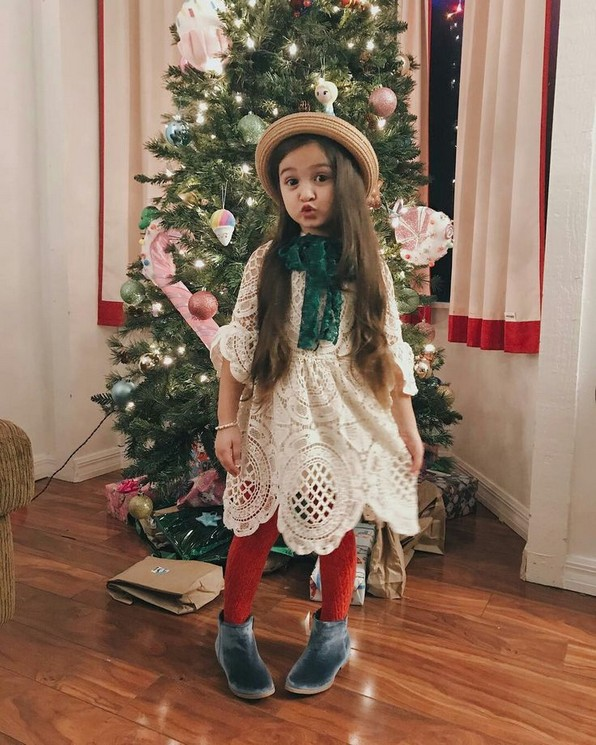 20 Astonishing Christmas Outfits For Small Girls Ideas 31