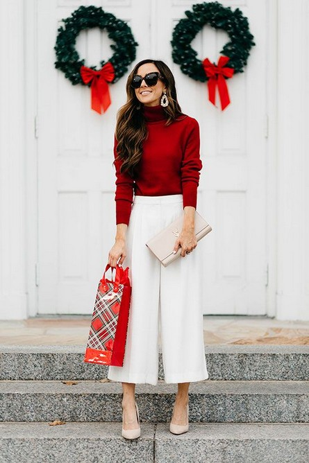 20 Delightful Christmas Outfit Ideas 03