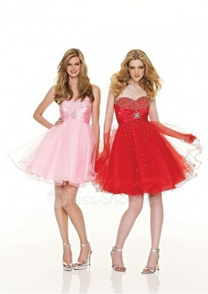 21 Stunning Red Pink Cocktail Dresses Ideas For Valentine'S Day 01