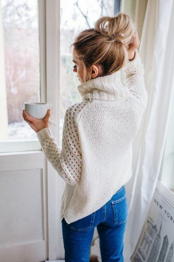 20 Types Of Sweater To Wear At Thanksgiving Events 23