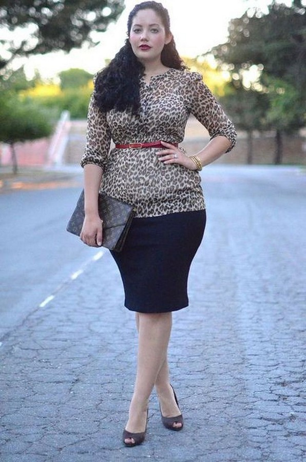 24 Things A Curvy Woman Must Consider When Choosing Outfit For Work 25