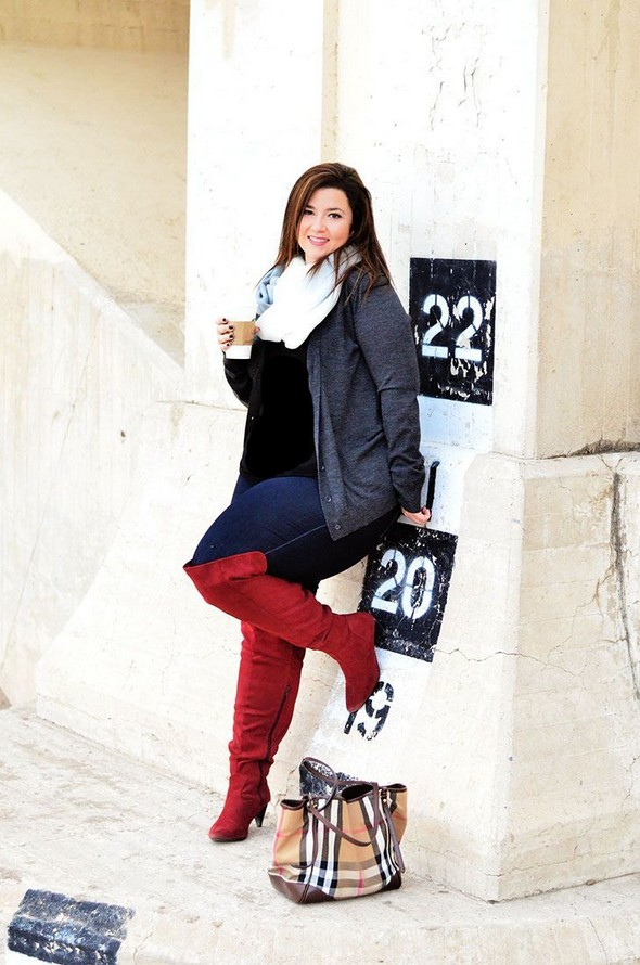 27 Winter Work Outfit Combinations For Plus Size Women 11