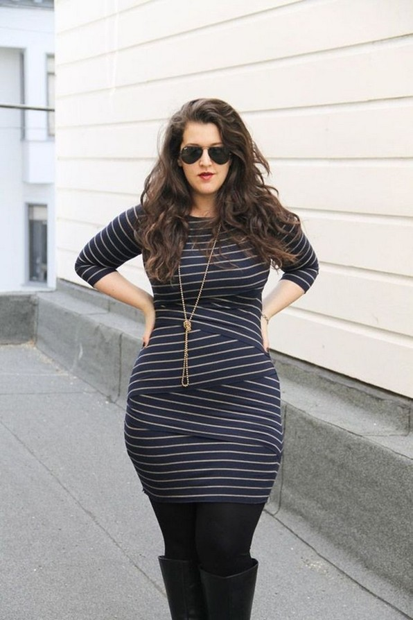 28 Rules To Choose The Best Dresses For Plus Size Women 02