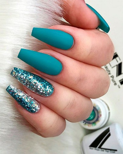 29 Beautiful And Luxurius Nail Design For Party 16